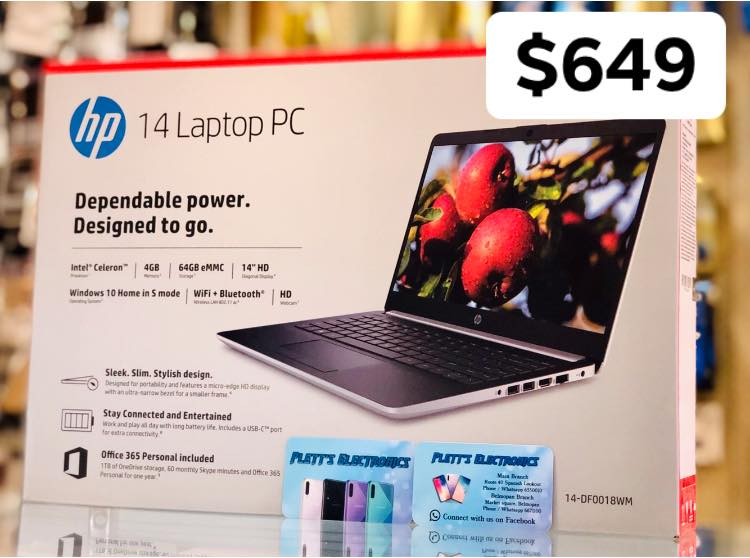 Limited quantities! New HP 14 Laptop PC with 64GB storage and 4GB RAM
