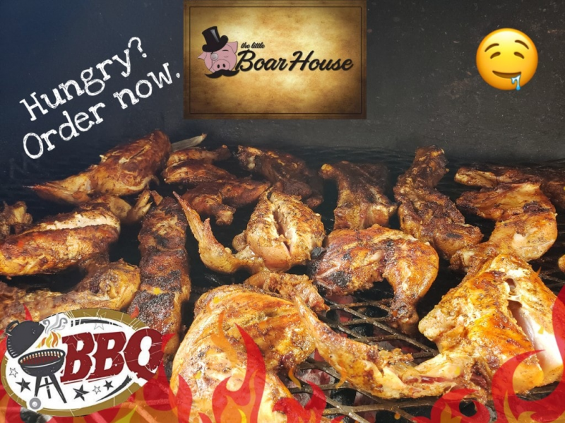 The Little Boar House is OPEN to satisfy your BBQ cravings!