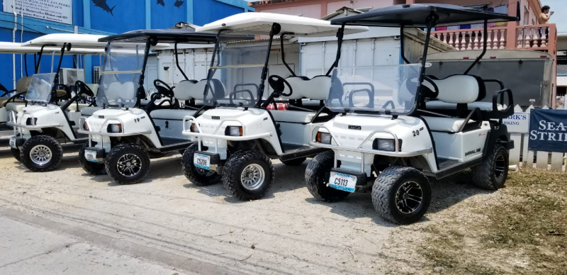 Golf carts for sale: Belize's best selection of new and preowned!