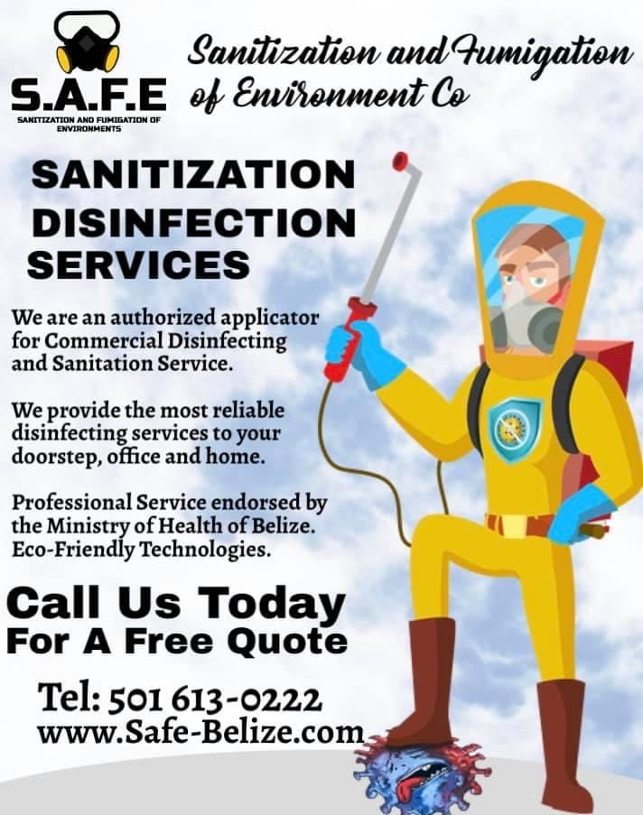 Professional Sanitization and Fumigation services endorsed by Ministry of Health