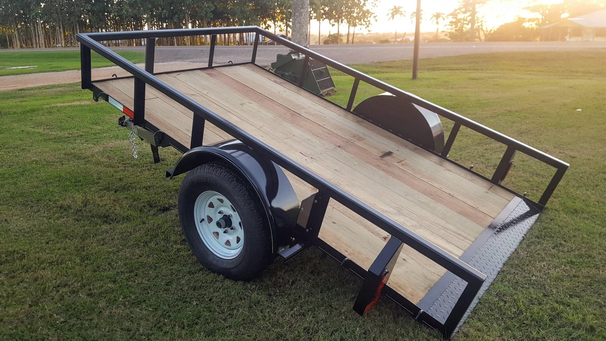 Single Axle Tilt Deck Trailer