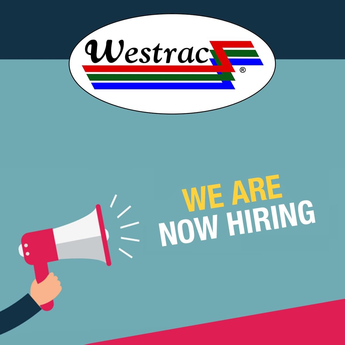 Hiring: Inventory Assistant and Counter Sales Representative at Westrac Ltd