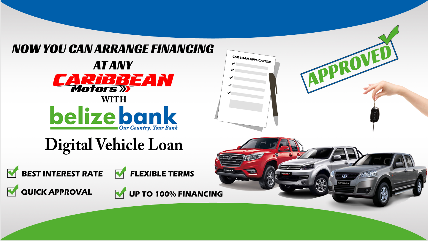 Quick approval Car financing at Caribbean Motors