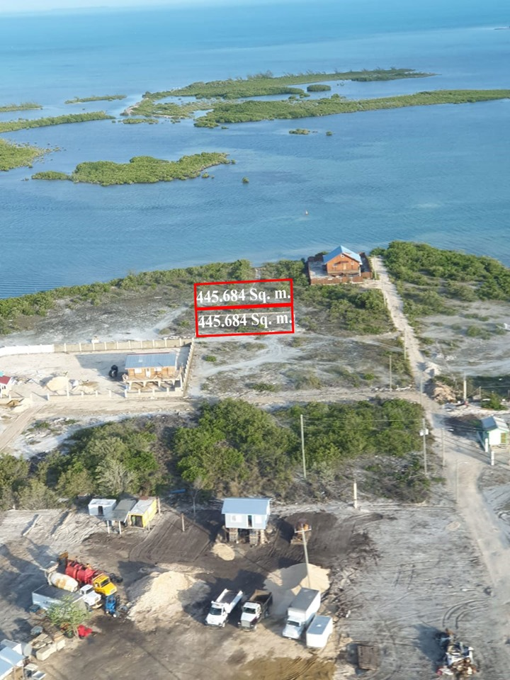 FOR SALE: 2 Ocean View Lots in San Pedro, Ambergris Caye
