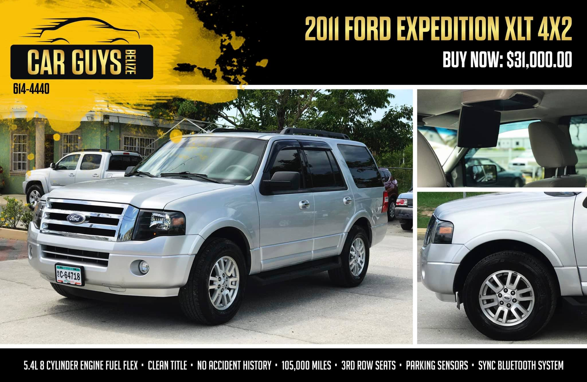 Perfect Family Truck! - 2011 Ford Expedition XLT