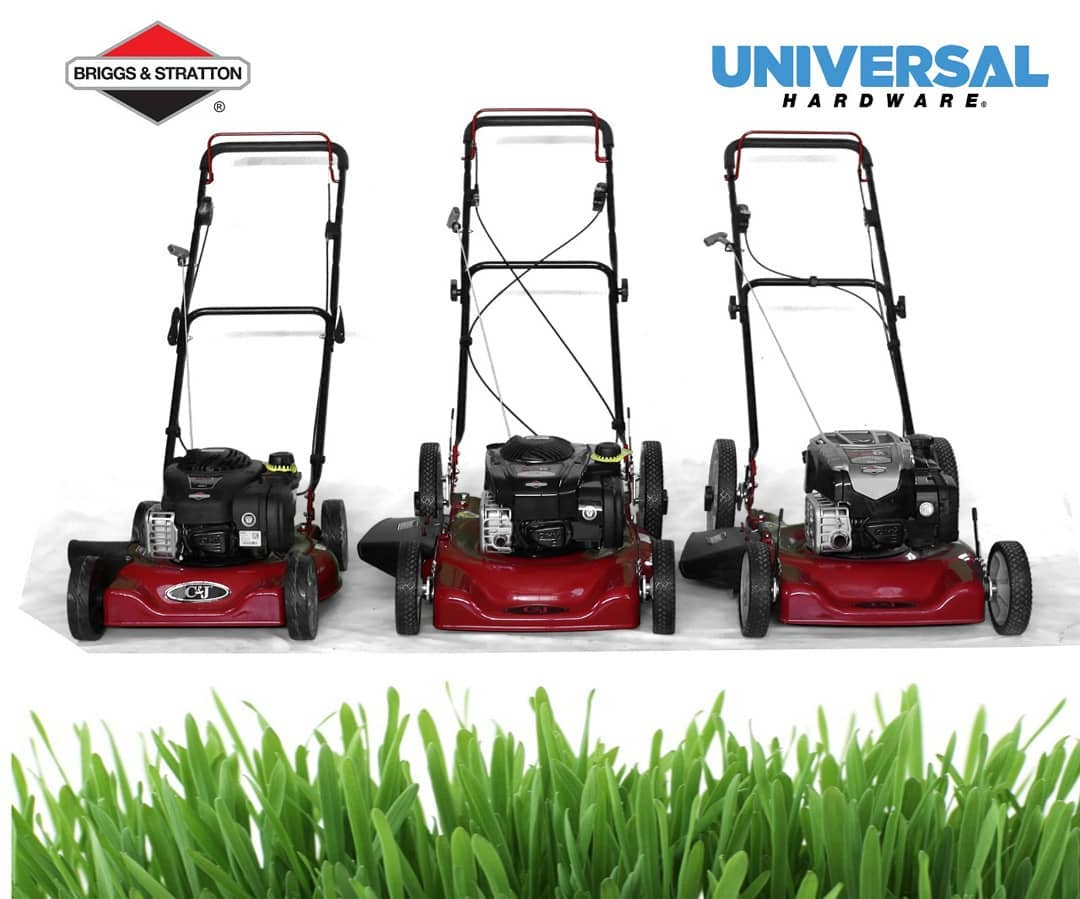 Briggs & Stratton Lawn mowers now available at Universal Hardware