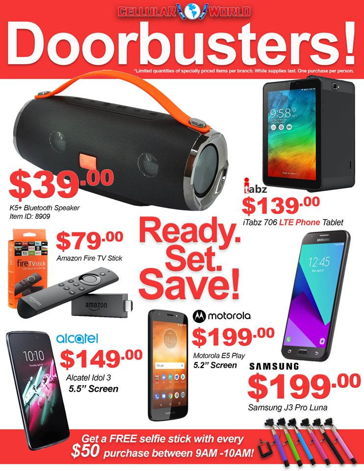 One Day Sale Doorbuster Deals! Saturday Nov 16th