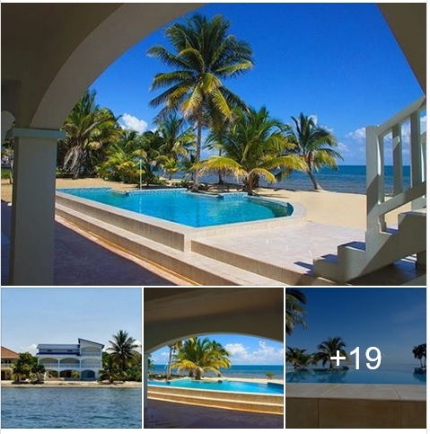 Hopkins Village: Beachfront Villa with pool available for long-term rent