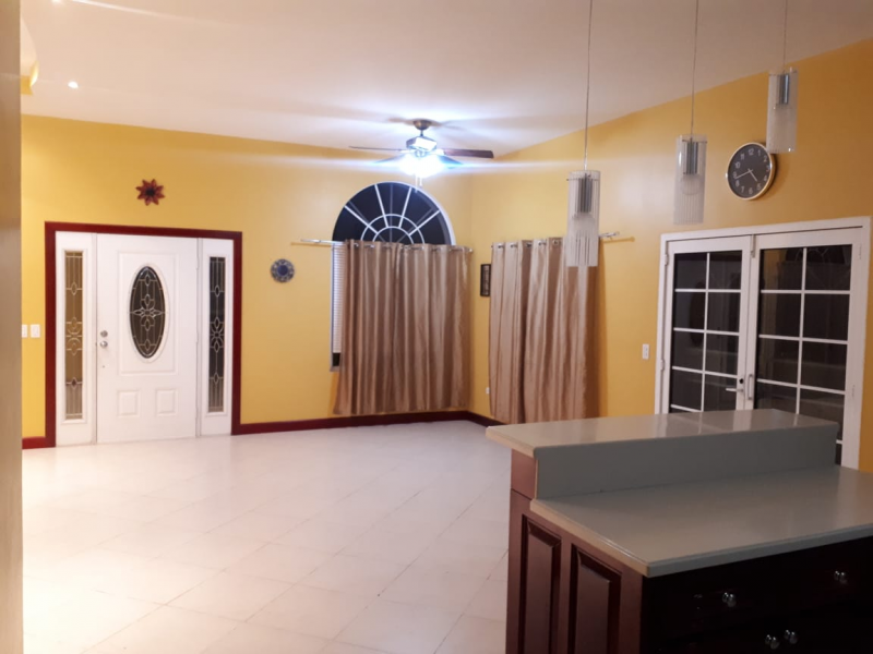 FOR RENT: Lovely 4 Bedroom 3 Baths Bungalow House in Belmopan - UNFURNISHED